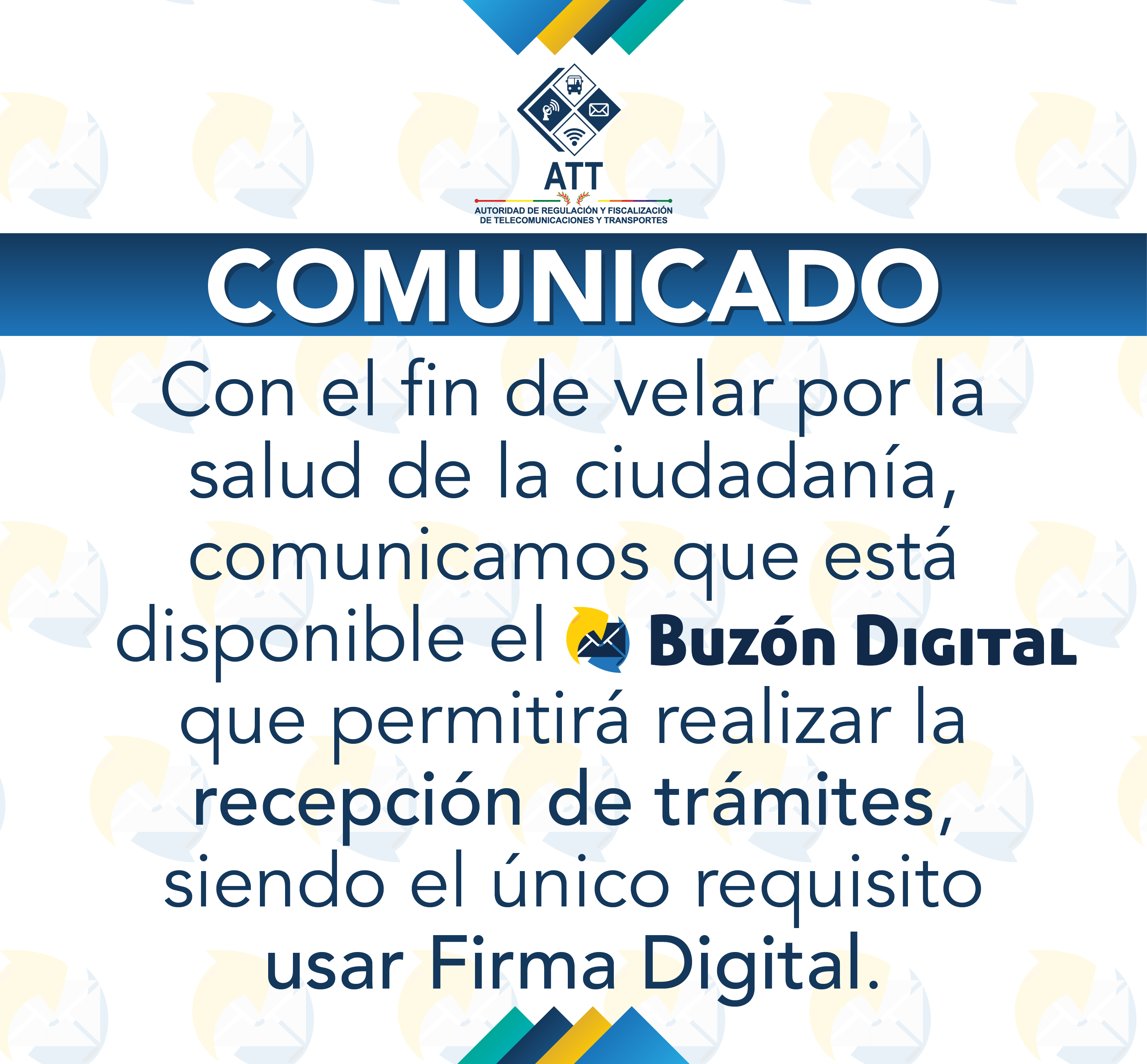 Comunicado Portal Web Pop Up BUzón Digital 06
